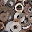 Washers — Stock Photo