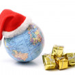 Christmas world and gifts — Stock Photo #22309939