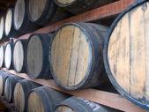 Rum stockpiling — Stock Photo