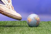 Soccer world — Stock Photo