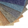 Colorful carpet samples — Stock Photo #22735313