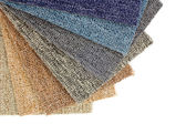 Colorful carpet samples — Stock Photo