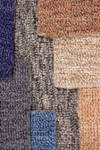 Carpet colors — Stock Photo