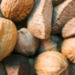 Nuts macro — Stock Photo #22874774