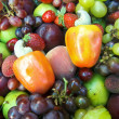 Tropical fruits — Stock Photo