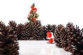 Kerstboom hier ga ik! — Stockfoto