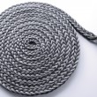 Foto Stock: Braided rope roll