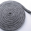Braided rope roll — Stock Photo