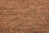 Alfombra de color marrón oscuro (textura) — Foto de Stock