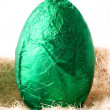 Royalty-Free Stock Photo: Easter Egg - Green