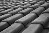 Black and White Roof — Stock Photo