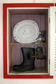 Požární hadice box — Stock fotografie