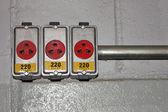 Voltage - 220V — Stock Photo
