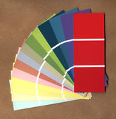Colored papers catalog — Stock Photo