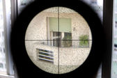 Sniper target — Stock Photo
