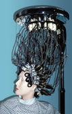 Mannequin dry hair — Stock Photo
