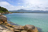 Florianopolis beach view — Stock Photo