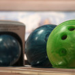 Bowling balls — Stock Photo