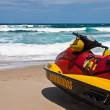 Firefighter watercraft — Stock Photo