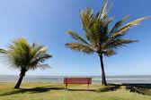 Arraial d'Ajuda Eco Resort in Bahia - Horizon over the water — Stock Photo