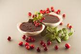 Redberries jam — Stock Photo