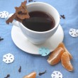 Stock Photo: Winter tea
