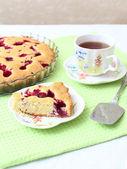 Raspberry cake — Stock Photo
