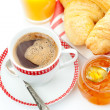 Breakfast setting — Stockfoto