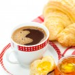 Continental breakfast — Foto de Stock