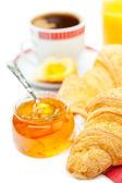 Pequeno-almoço continental — Fotografia Stock