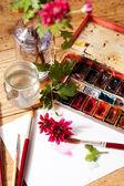 水彩画 — ストック写真