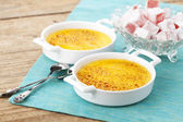 Creme brulee — Stock Photo