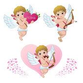 Cupid samling — Stockvektor