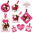 Set of Valentine — Stockvector #18757443