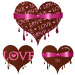 Set of Valentine - Stock Vector