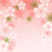 Shower of Cherry Blossoms — Vector de stock