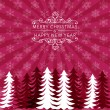 Stock Vector: Christmas holiday background