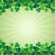St. Patrick's Day Background — Stock Vector #40956249