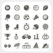 Sport icons set — Stock Vector