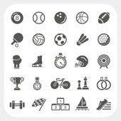 Conjunto de ícones do esporte — Vetor de Stock