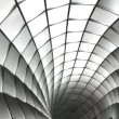 Spiral steel mesh animation - Stock Photo