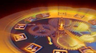 Clock countdown — Stock Video #13704164
