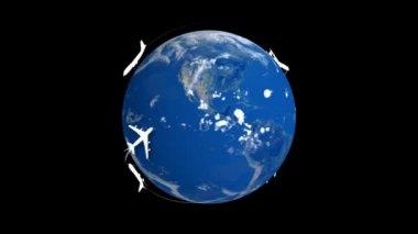 Earth planet — Stockvideo