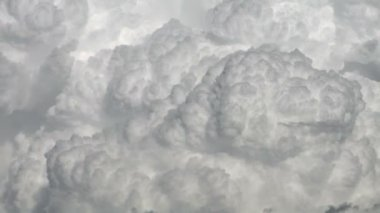 Cumulonimbus clouds — Stock Video
