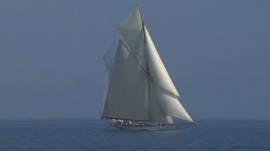 Old sail 11 — Stock Video