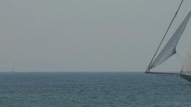 Old sail regatta 13 — Stock Video