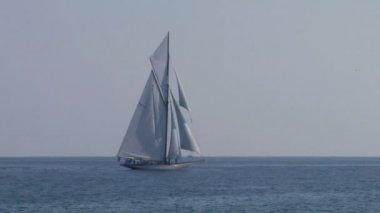 Old sail regatta 25 — Stock Video