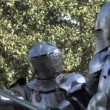 Stock Video: Medieval Knight