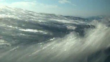 Waterline Slow Motion — Stock Video