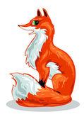 Red fox — Stock Vector